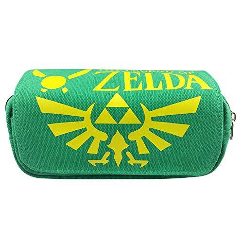Legend of Zelda - Estuche para lápices para niños, para oficina, estudiante, escuela, suministros para niños