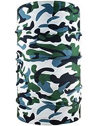 85d20ce22c6c headloop Multifonction Chiffon Camouflage Vert Gris Loop Tuyau Chiffon  écharpe Foulard tête en Microfibre