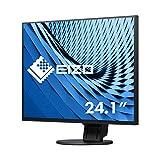 Eizo EV2456-BK 61,2 cm (24,1 Zoll) Ultra-Slim Monitor (DVI-D, HDMI, USB 3.0, DisplayPort, 5ms Reaktionszeit, Auflösung 1920 x 1200) schwarz