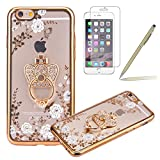 iPhone 5S Coque,iPhone SE Silicone Coque,iPhone 5 Housse - Felfy Glitter Etui Housse...