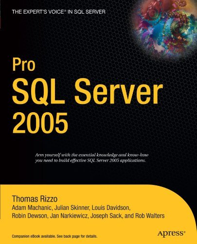 Pro SQL Server 2005 by Thomas Rizzo (2005-11-06)