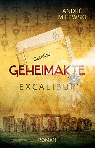 Buchseite und Rezensionen zu 'Geheimakte Excalibur' von André Milewski