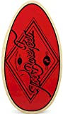 Skimboard for beach by Two Bare Feet (RED NATURAL)