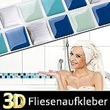 Grandora W5291 autoadhesivos 3D Mosaico Adhesivo de azulejo Cocina Baño tamaño Elección - Diseño 10, wie gewählt