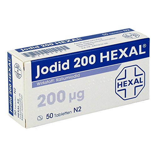 Jodid 200 HEXAL, 50 St. Tabletten