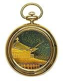 Urushi Maki-e Joga Kinkaku-ji 1 - Reloj de Bolsillo