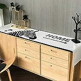 WENJUN Tischläufer Tischläufer Abstrakte Handgefertigte Künstlerische Top Decor Dining Tablerunners Tischwäsche Für Home Dekorative Couchtisch Bettläufer Sofa (Farbe : Style A, größe : 30 * 180cm)