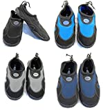 Blue Rush Mens Beach Wetsuit Aqua Shoes