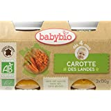Babybio Pots Carotte des Landes 260 g -