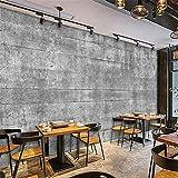 GBHL pared de cemento retro haga el antiguo papel pintado industrial viento papel tapiz decorativo de dormitorio personalizado, 200x140 cm (78.7 por 55.1 pulg.)