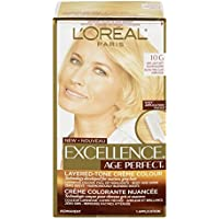 L'Oreal Paris Hair Color Excellence Age Perfect Layered-Tone Flattering Color Dye, Very Light Soft Golden Blonde by L'Oreal Paris