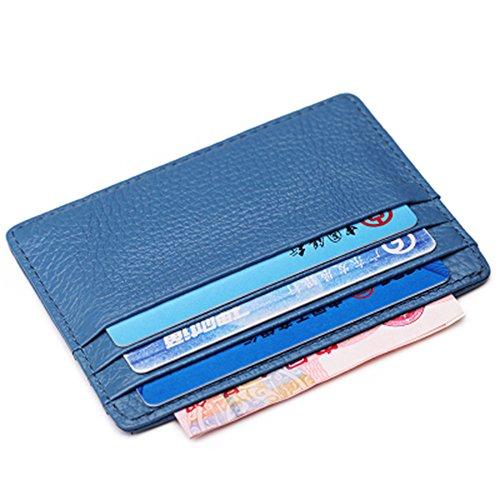 Artmi Porta carte di credito sottile in pelle donna Card