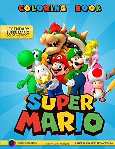 Super Mario Coloring Book: Adventures of Super Mario por Mark Smith