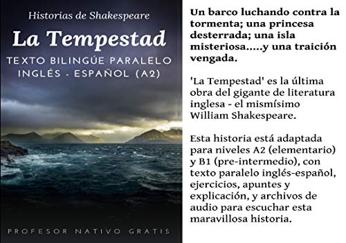 Stories from William Shakespeare: La Tempestad (The Tempest ...