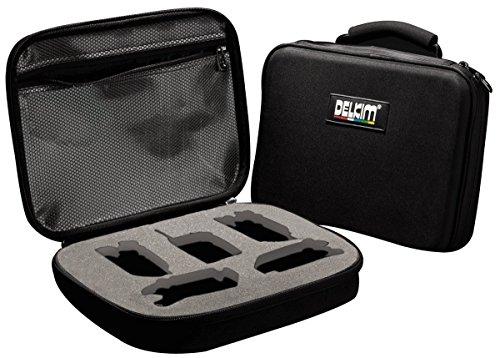 DelkimHardcase Black Box – Estuche para avisador de picada Delkim, diseño rígido, color negro
