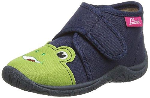 Beck Frog, Pantofole Bambino, Blu (Dunkelblau / 05), 20 EU