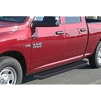 Matte Black 5 Running Boards 09-16 Dodge Ram 1500 10-16 Ram 2500/3500 Crew Cab Nerf Bar Side Steps Tube Rail Bars by APS