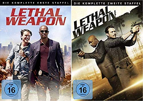 Lethal Weapon Staffel 1+2 Die Serie [DVD Set]