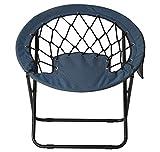 @home By Nilkamal Fancy Garden Chair (Blue)