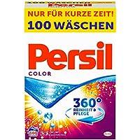 Persil Color Pulver, Colorwaschmittel, 360° Reinheit & Pflege, 1er Pack (1 x 100 Waschladungen)