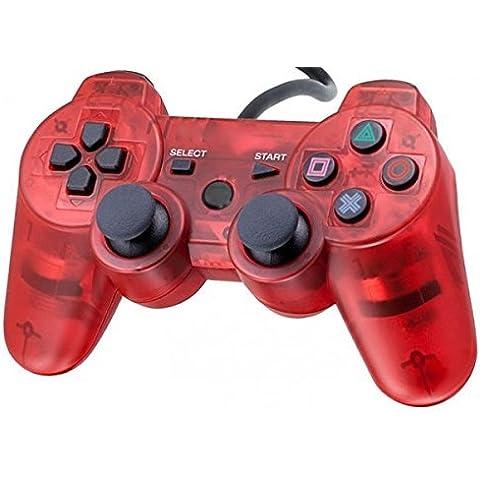 Mando pad controller Playstation PS2 PS two (ROJO)