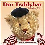 Der Teddybär 2019 - Broschürenkalender - Wandkalender - Format 30 x 30 cm: Bären sind doch bessere Menschen