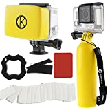 Best CamKix® impugnatura - Kit Accessori per GoPro CamKix comprende 1 Galleggiante Review
