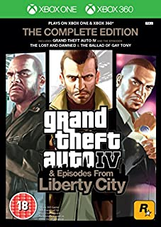 GTA IV Complete Edition (Xbox 360/Xbox One) (B06WWNVH1B) | Amazon price tracker / tracking, Amazon price history charts, Amazon price watches, Amazon price drop alerts