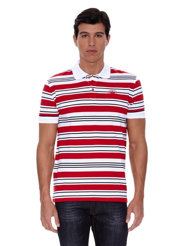 gianfranco-ferre-polo-manches-courtes-logo-rouge-40