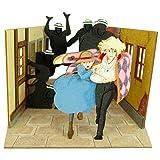 Studio Ghibli mini Howl's Moving Castle escape Howl and Sophie MP07-32 non-scale paper craft