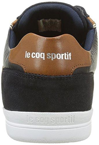 Le Coq Sportif Alsace Low, Baskets Basses Homme Bleu (Dress Bleu)