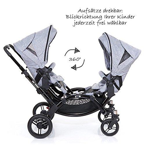 ABC Design Zoom – Zwillings- und Geschwisterkinderwagen - 2