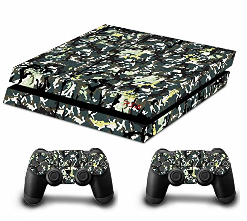 ticker Aufkleber for Playstation 4 PS4 Console Controllers (Graffiti Camouflage) (Harry Potter-promotion-geschenke)