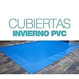 International Cover Pool Cubierta de Invierno para Piscina de 4x12 Metros...