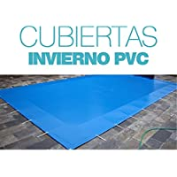 International Cover Pool Cubierta de Invierno para Piscina de 6x3 Metros (6,30x3,30 Metros)