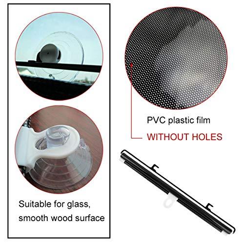 40x60cm-Retrattile-Car-Side-Window-Curtain-Automobile-Parasole-Parabrezza-Scudo-Tenda-Universale-Nero