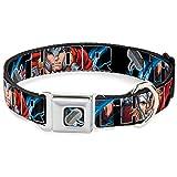 Buckle Down 22,9–38,1cm Marvel Avengers Thor Posen/Hammer Hundehalsband