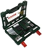 Bosch V-Line Titanio - Maletín de 83 unidades para taladrar