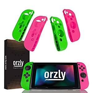 ORZLY® FLEXICASE for Nintendo Switch Joy-Cons (Please Select and Add to Cart Below…)