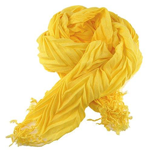 nails-beauty24Envío–Señor bufanda para mujer bufanda de efecto crash e...