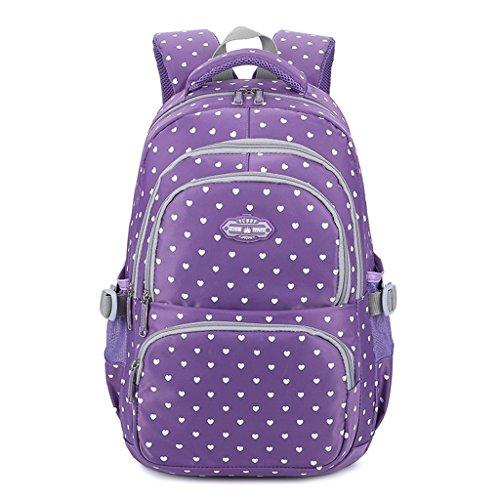 Mädchen Rucksack Rucksack, Schultasche für Kinder Kleinkinder Studenten Bookbag Lässiger Tagesrucksack Laptop Rucksack Outdoor Reisetasche - Idee für Klasse 3-6 Schatz Lisa