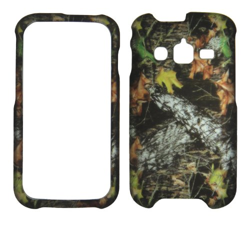 Fallen Tree Camouflage Samsung Galaxy Rugby Pro i547 ATT Case Cover Hard Protector Phone Cover Snap on Case Faceplates