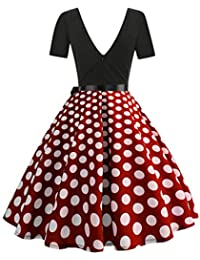 new arrival 95895 c1828 Amazon.it: gonna pois rossa - Gonne / Donna: Abbigliamento