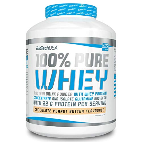 BioTech USA 100% Pure Whey, Sabor Cookies&Cream - 2270 gr