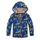 i-uend Baby 2019 New Coat - Kinder Kinder Outdoor Wasserdicht Mit Kapuzenjacke Warm halten Mantel Kleidung für 2-7 Jahre