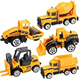 Jersh★ Alloy Excavator Model Toy, 2019 Mini Classic Construction Engineering Truck Alloy Models Cars Toy Sets For Kids Various Vehicle Models
