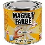 Peinture magnétique 1000ml - transforme les murs en surfaces aimantées, appliquez une couche de finition de n'importe quelle couleur ou forme