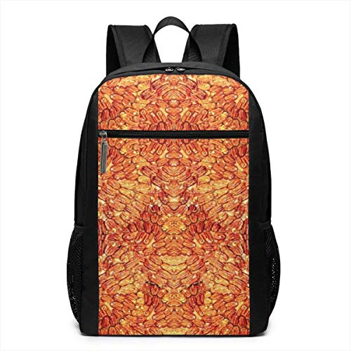 The Never Ending Pecan Pie Laptop Backpack for Women Men,School College Backpack Travel Backpack Fits 17 Inch Notebook (12