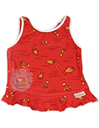 Imse Vimse Tankini Top, 1 bis 2 Jahre, Large, Rot, Fisch