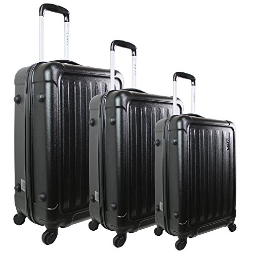 1 Valise taille moyenne ZIFEL A-048 BLACK 61 cm